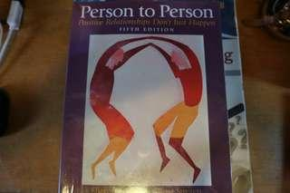 Person to Person 5th Edition