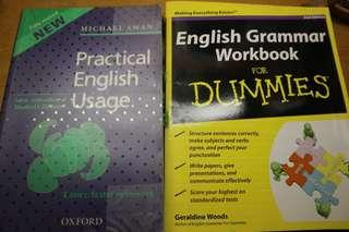 Grammar books and IELTS books with CDs (Bundle sale)
