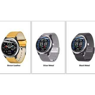 Men's Smart Watch with Blood Pressure & ECG