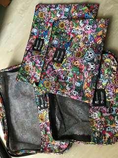 Tokidoki 4 in 1 travel bag