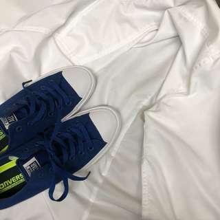 🚚 Converse chuck 2 全新 藍色低筒 25cm