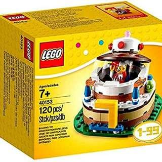 🚚 LEGO Birthday Decoration Cake Set 40153