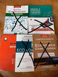 JC A level assessment books / notes