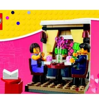🚚 LEGO 40120: Seasonal Valentine's Day Dinner