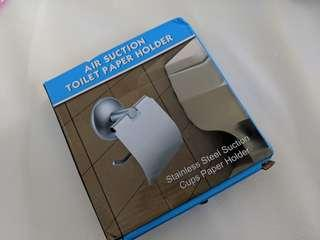 Toilet paper holder Stainless steel suction