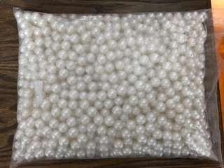 Packet of pearls for decor