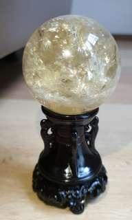 Citrine Ball (黄水晶球)