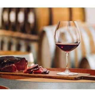 RIEDEL VINUM PINOT NOIR (BURGUNDY RED) wine glasses