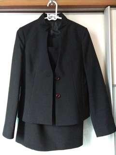 西裝3件套裝 fresh grad 超修身返工 3 pcs slim cut suit set