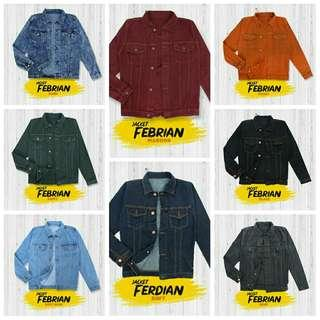 JAKET FEBRIAN (REAL PICTURE)
