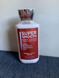 Bath and Body Works Super Smooth Lotion Pretty as a Peach
