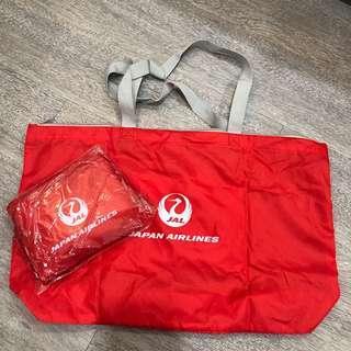 日本航空🇯🇵Japan Airline✈️紀念環保包 購物袋 防水 輕便收納包 隨身購物包 旅行袋