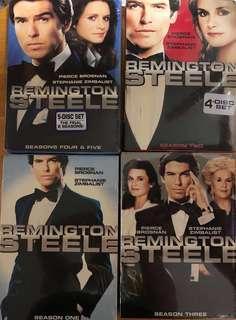 Remington Steele complete dvd set (Pierce Brosnan)