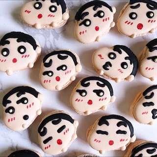 Shin-Chan Macarons