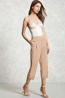 Forever21 Pleated Cropped Pants