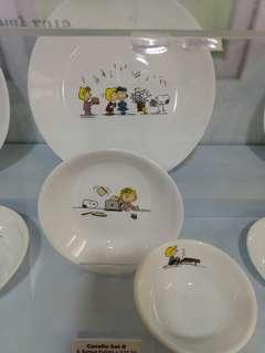 3PCS CORELLE X PEANUTS (Limited edition)