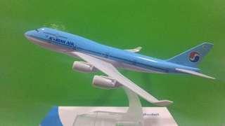 Korean airlines airplane