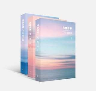 BTS THE NOTES BOOK