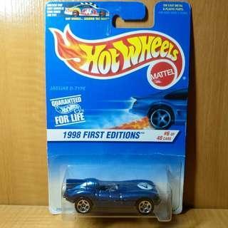 Hotwheels Jaguar D-Type