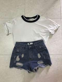 🚚 HW Shorts & Top