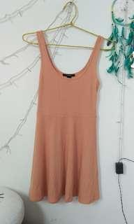 SALE !! Mididress Nude by Forever 21