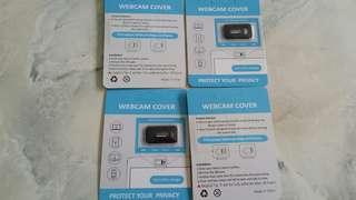BN Webcam cover x 4 unit selling only sgd5!