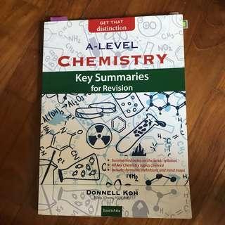 a level chem summaries
