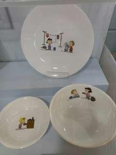 LIMITED EDITION CORELLE X PEANUTS (3PCS)