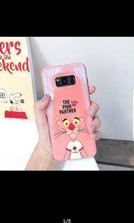 🚚 [PO] Samsung blue light pink panther phone case
