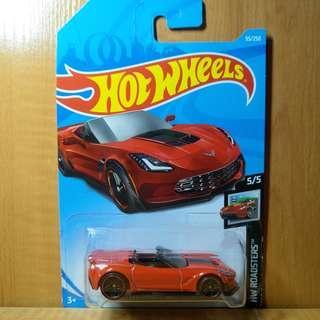 Hotwheels Chevrolet Corvette C7 Z06 Convertible