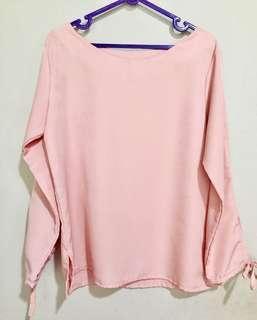 Pink Top ikat