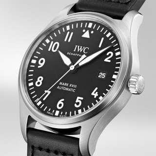 IWC Pilot Mark XVIII Black Dial (IW327001)
