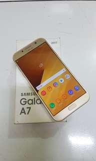 Samsung A7 2017 mulus lengkap