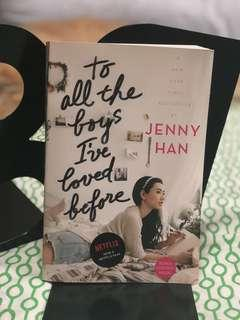 🚚 To all the boys I've loved before by Jenny Han