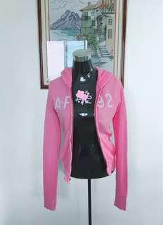 Abercrombie and Fitch Pink Hoodie