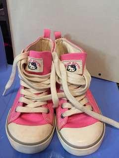 小童粉紅kitty Gap 鞋