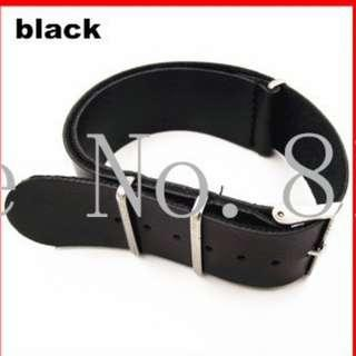 ⌚FREE POSTAGE 18mm Synthetic Leather (PU) NATO Watch Strap⌚
