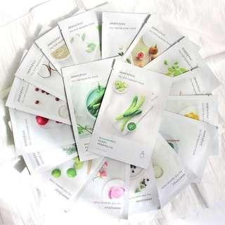 Natural Masking 100% Authentic KOREA Innisfree My Real Squeeze Mask