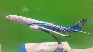 Oman Air airplane