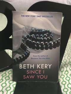 🚚 Since I saw you by Beth Kery