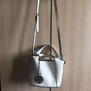 2 in 1 Leather Sling Bag