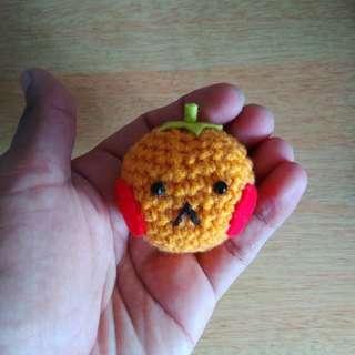 Amigurumi tangerine