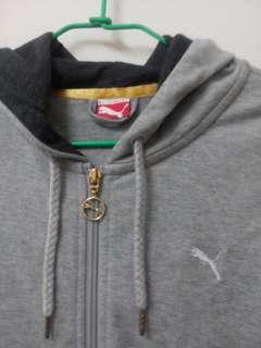 puma中長版拉鍊外套#半價衣服拍賣會