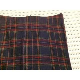[Buy 3 for RM15] Red-Orange-Green plaid stocking