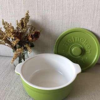 海尼根 簡約小型陶瓷碗(泡麵、蒸蛋、各種料理皆適用)