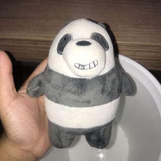 wbb panda soft toy keychain