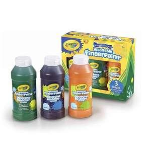 🚚 BN Crayola Washable Fingerpaint 8oz x 3 bottles