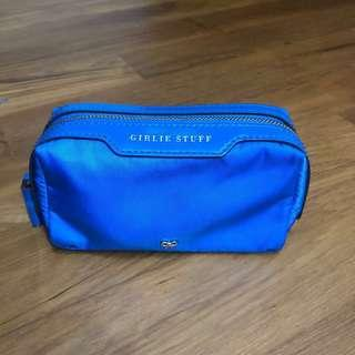 Anya Hindmarch Blue Girlie pouch for SALE!