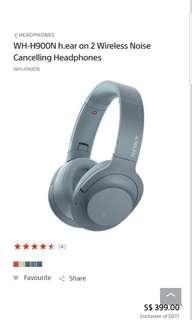 Sony Wireless WH-H900N Headphones
