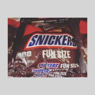 Snickers Fun Size Pack